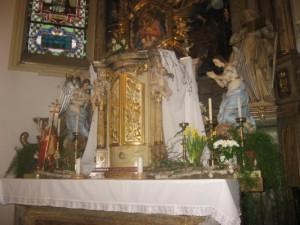 pohled na hl. oltář